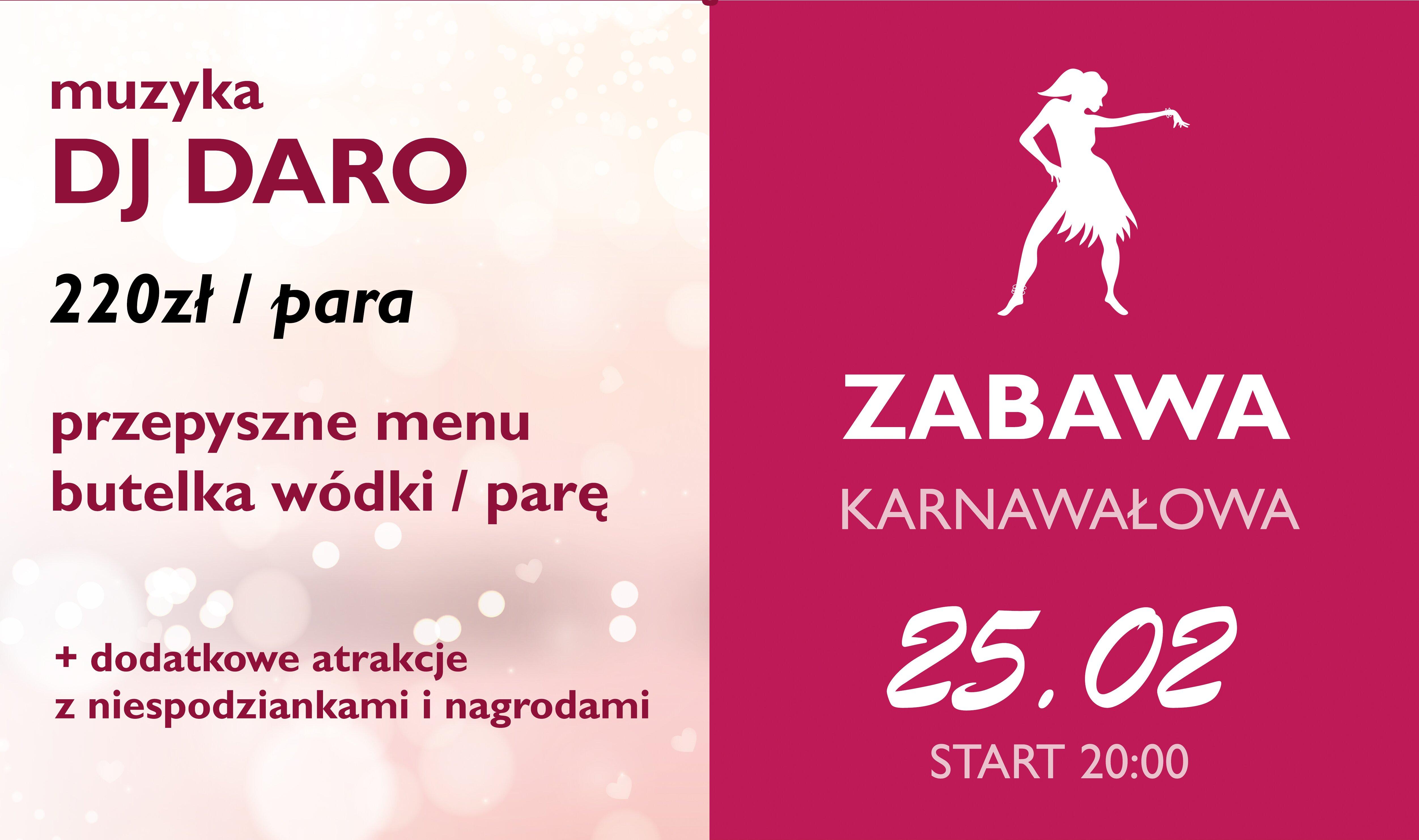 Zabawa Karnawałowa 25.02.2017
